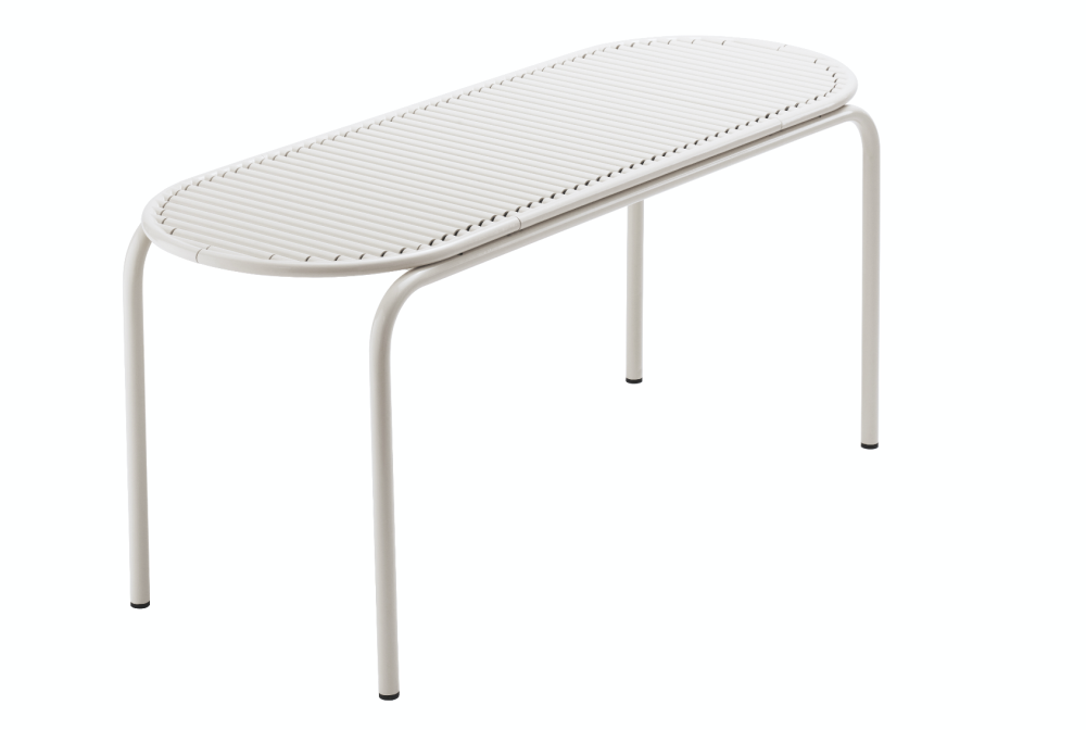 ROLL COLLECTION Bench White