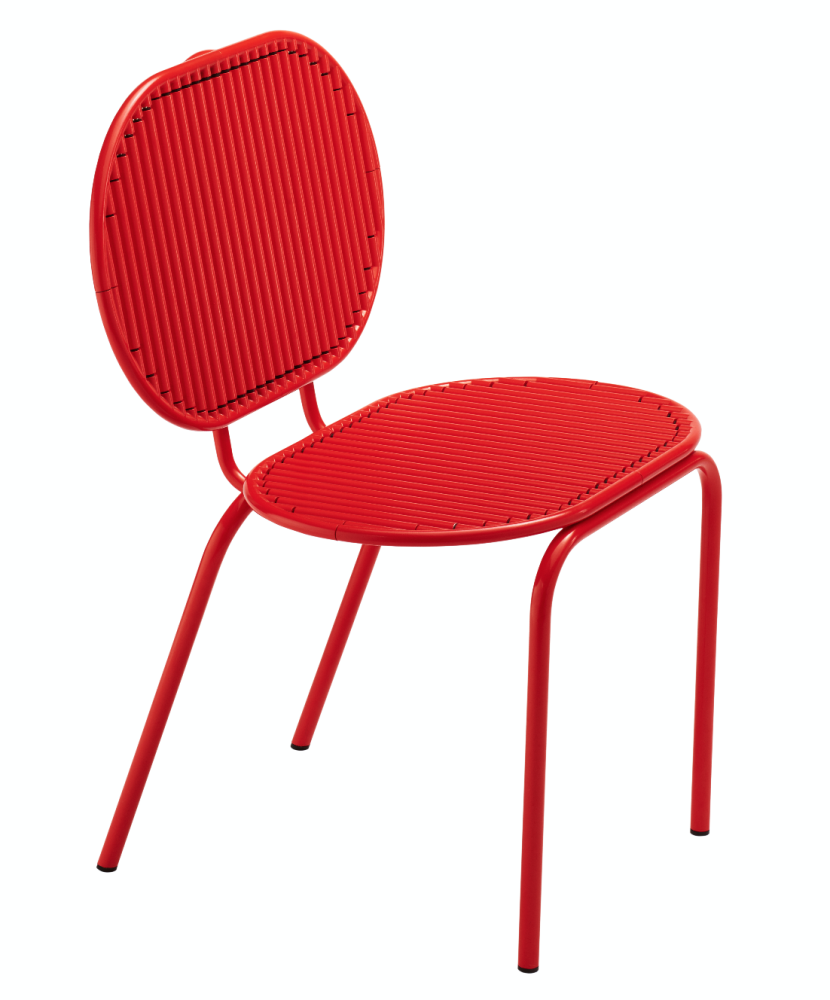 Roll Chair Red