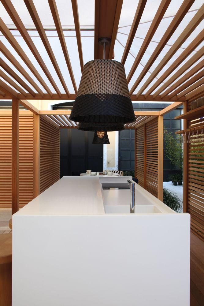 Romeo outdoor c3 pendant light panama tige 71 cm by flos beautiful outdoor pendant lamp aloadofball Choice Image