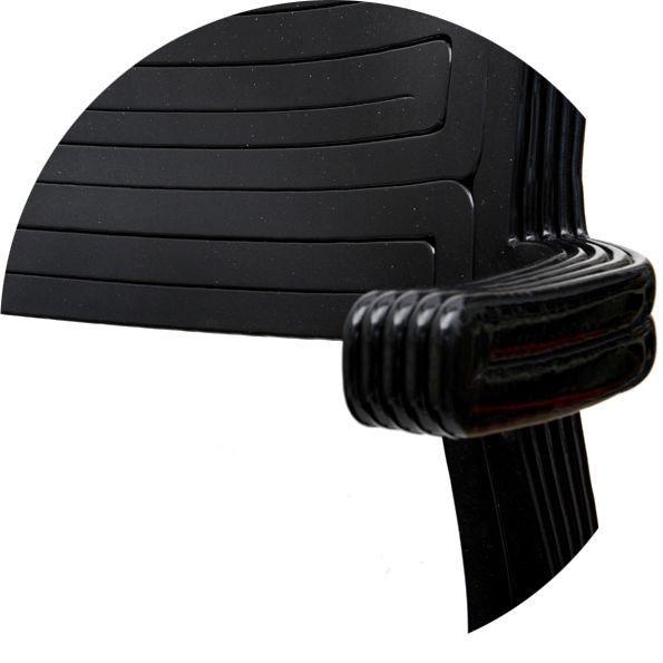 Detail of RvR Chair, Black
