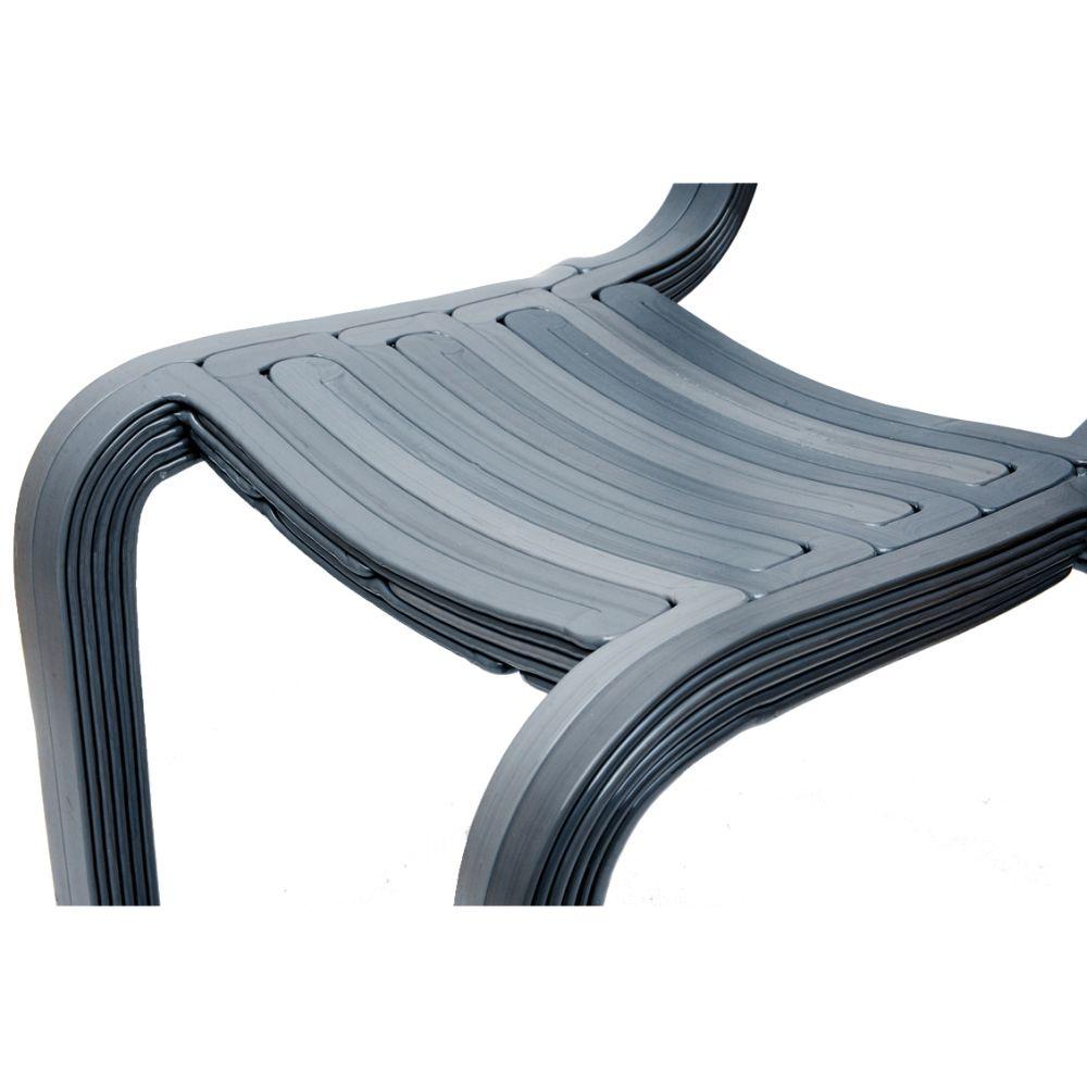 Detail of RvR Chair, Ash Grey
