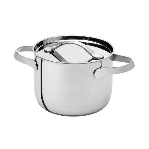 Saucepan with lid 24cm by Serafino Zani