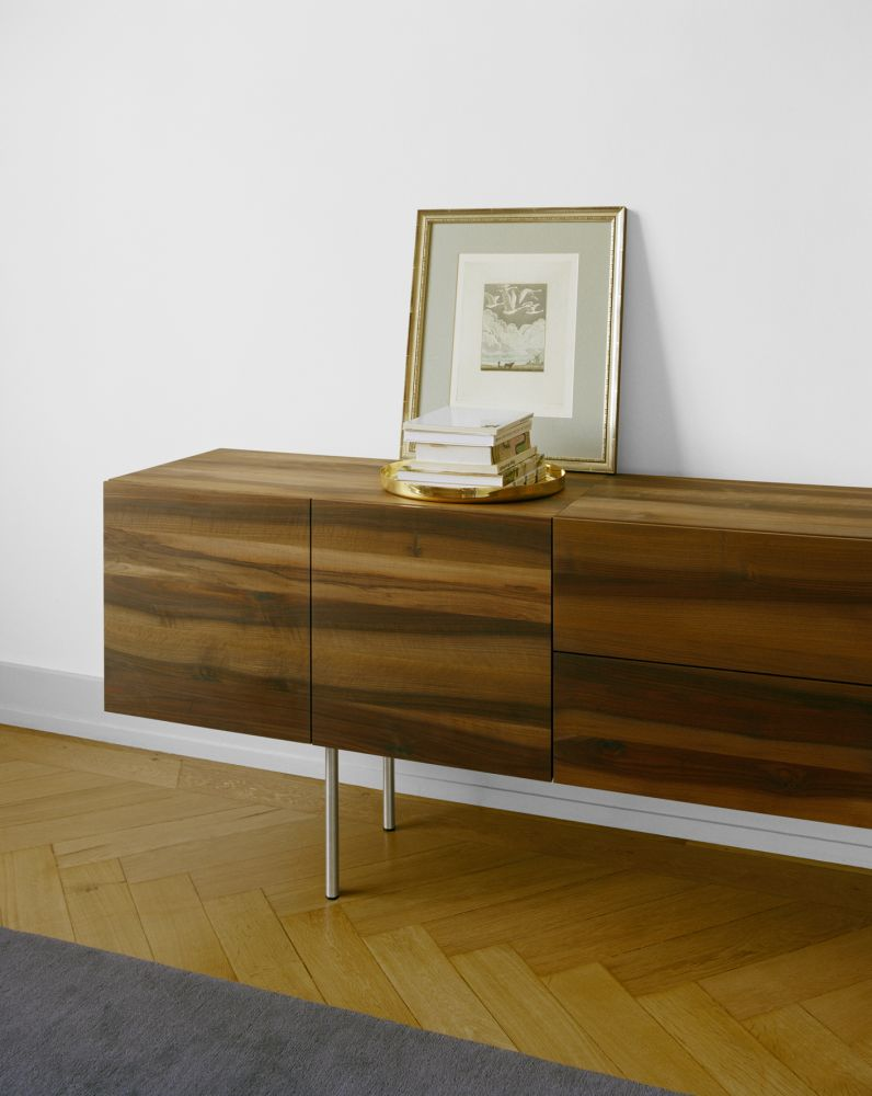 SB07 Shahnaz Wallmounted Sideboard by e15