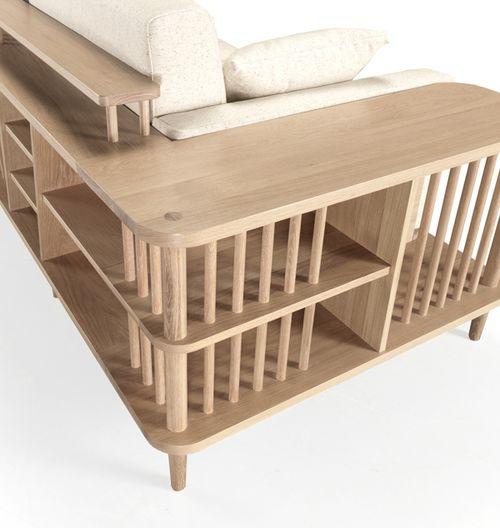 Scaffold Sofa by Wewood