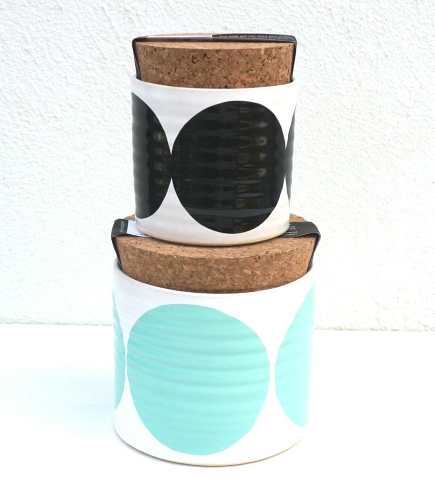 Set of 2 Pots by Camilla Engdahl