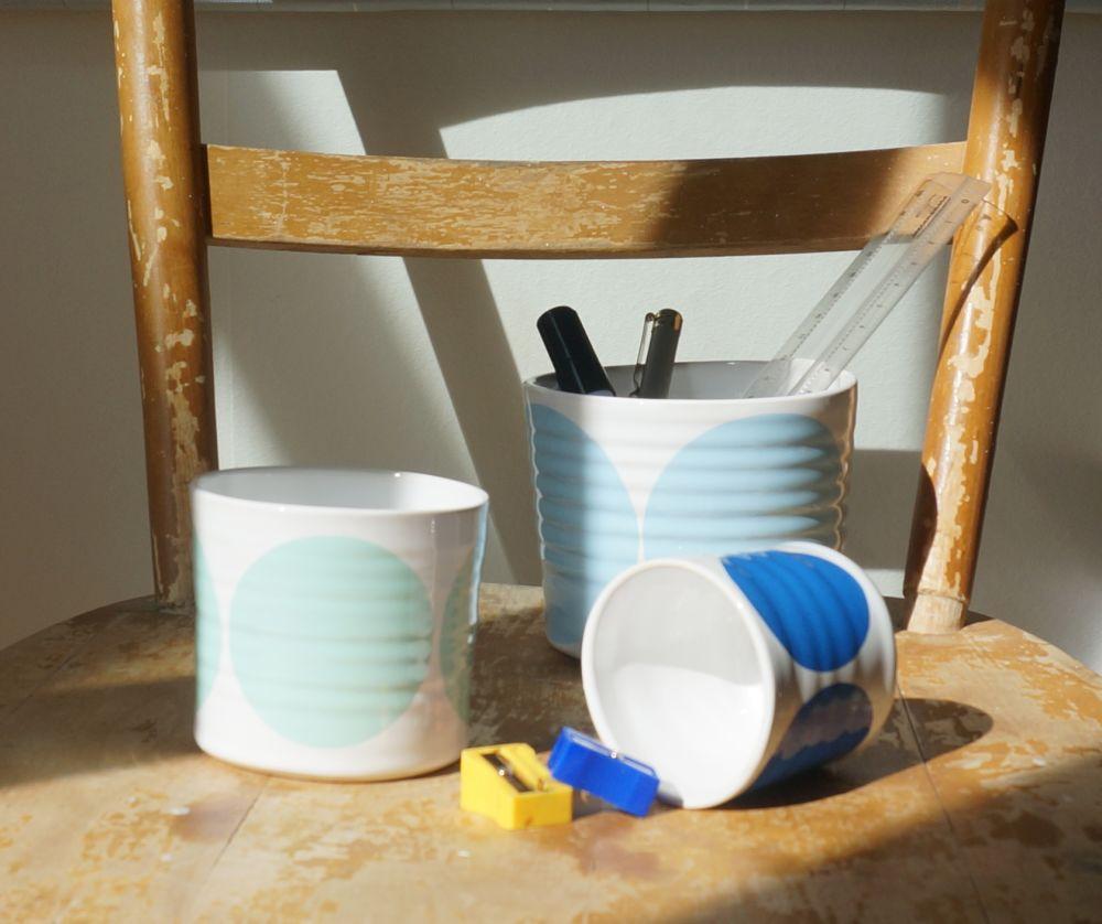 Set of 3 Pots by Camilla Engdahl