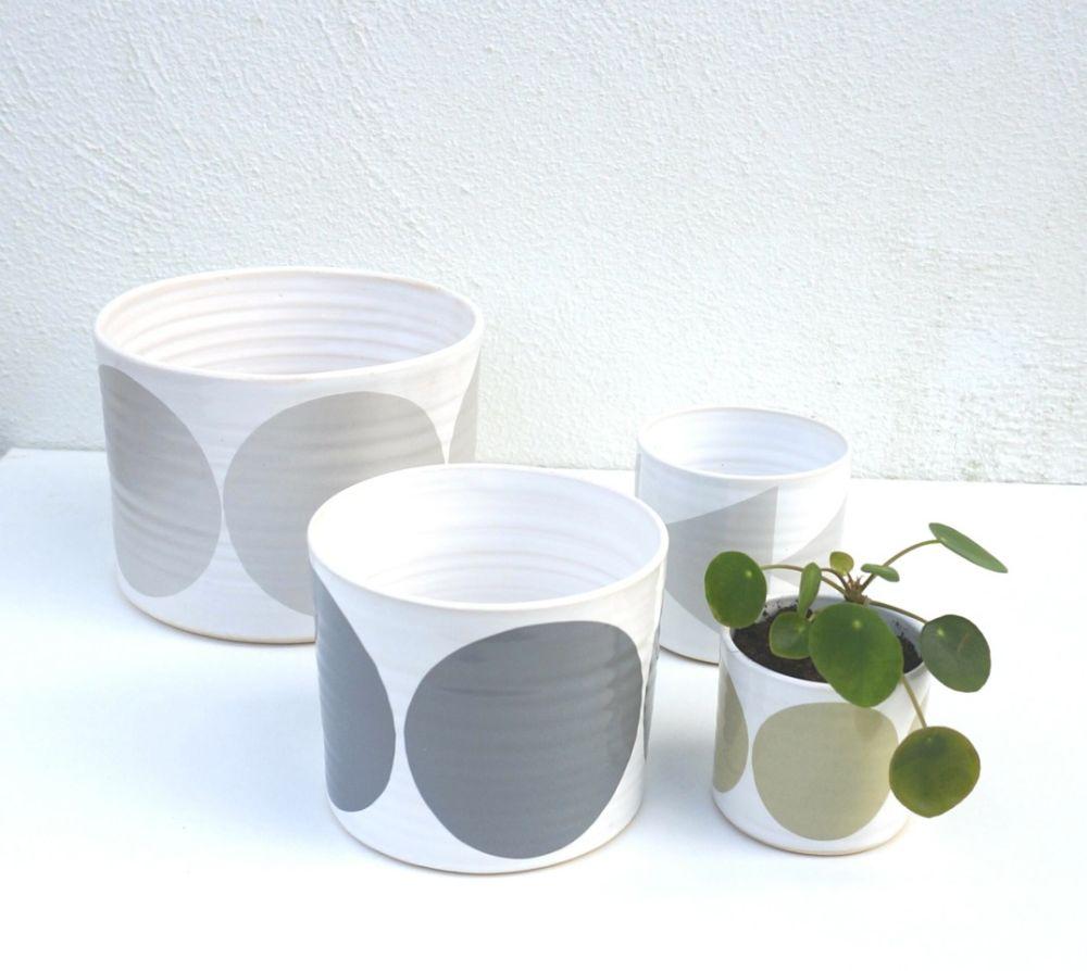 Set of 4 Pots by Camilla Engdahl