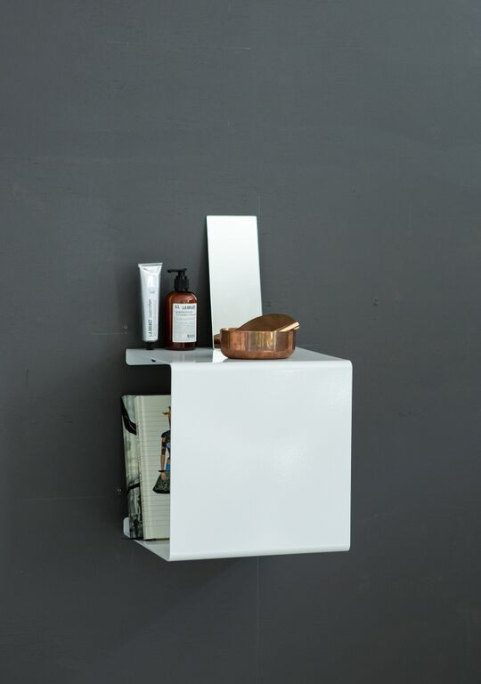 White Showcase#0 Shelf