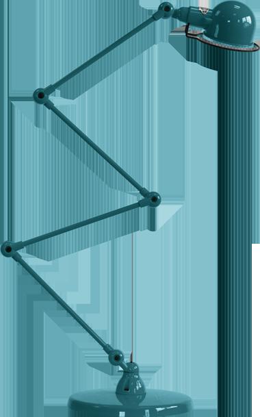 SIGNAL Zig-zag 4 Arm Desk Lamp by Jielde