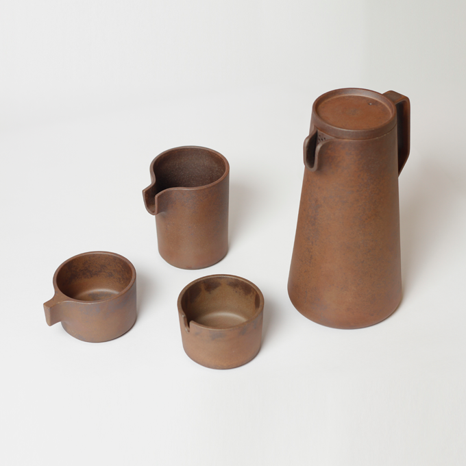 Silt Small Jug and Bowl  by Viewport Studio