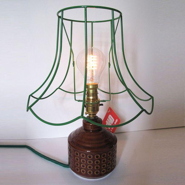 Skeleton Table Lamp by Donna Walker