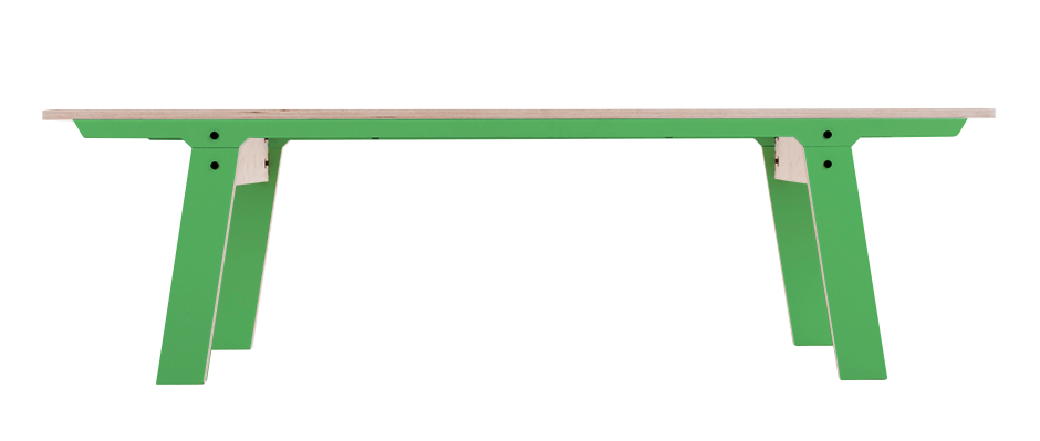 Slim Bench 01 Mid - Palm Leaf Green