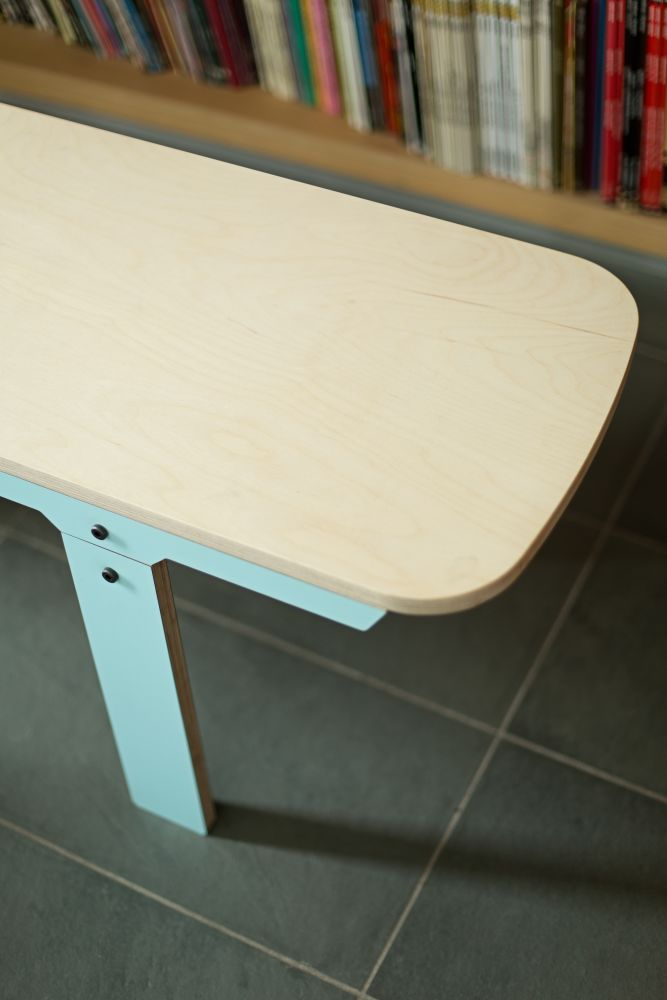 Slim Bench 01 Mid - Butterfly Blue