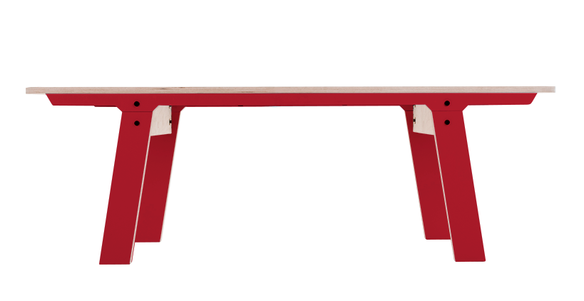 rform Slim Bench 01 Small - Cherry Red