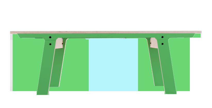 rform Slim Bench 01 Small - Palm Leaf Green