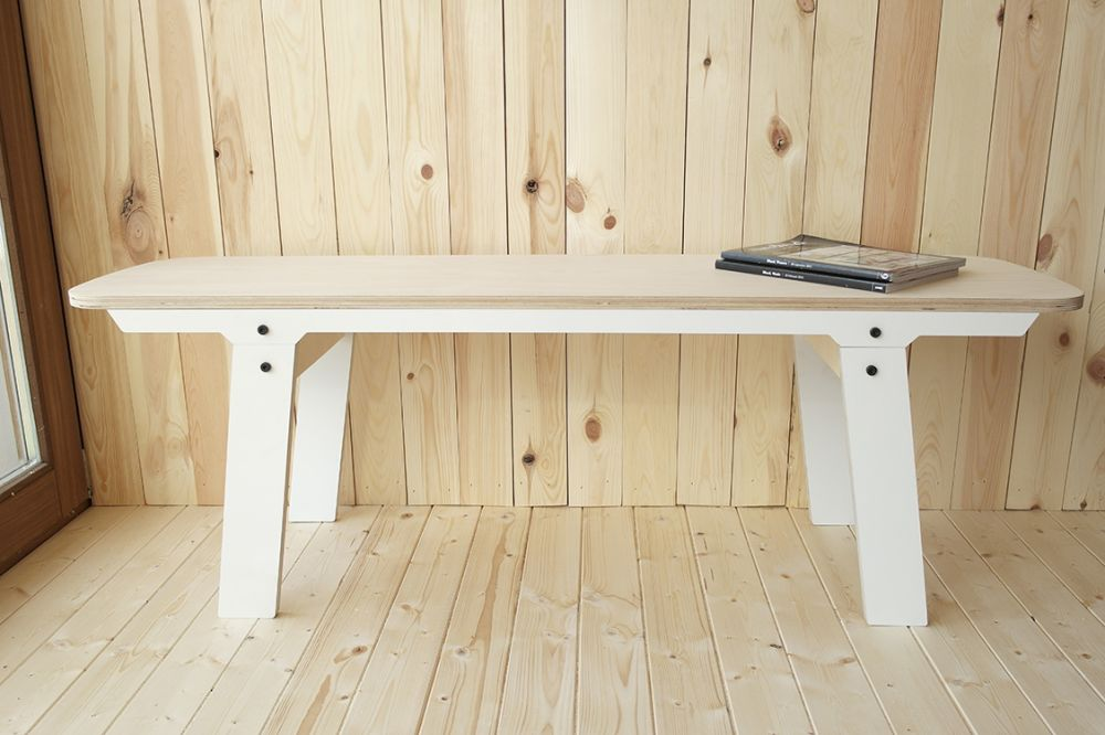 rform Slim Bench 01 Small - Snow White