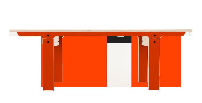 Slim Bench 04 Small - Foxy Orange