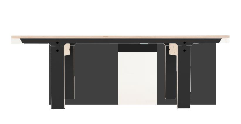 Slim Bench 04 Small - Inky Black