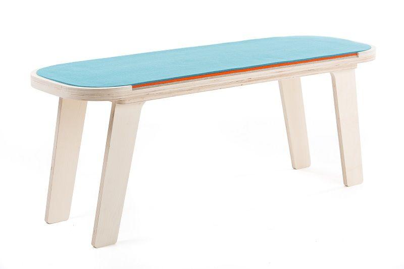 rfrom Slim Touch Bench - Blue - Orange - Grey