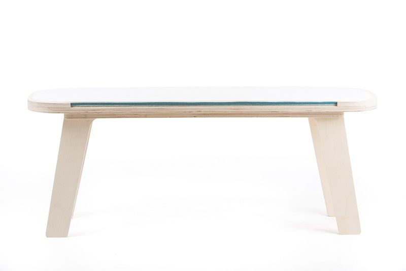 rfrom Slim Touch Bench - White - Blue - Grey