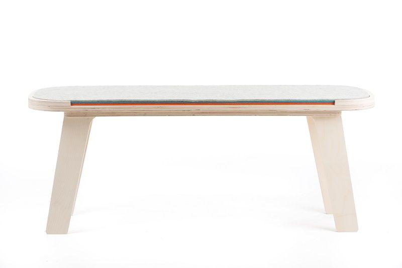 rfrom Slim Touch Bench - White - Blue - Orange