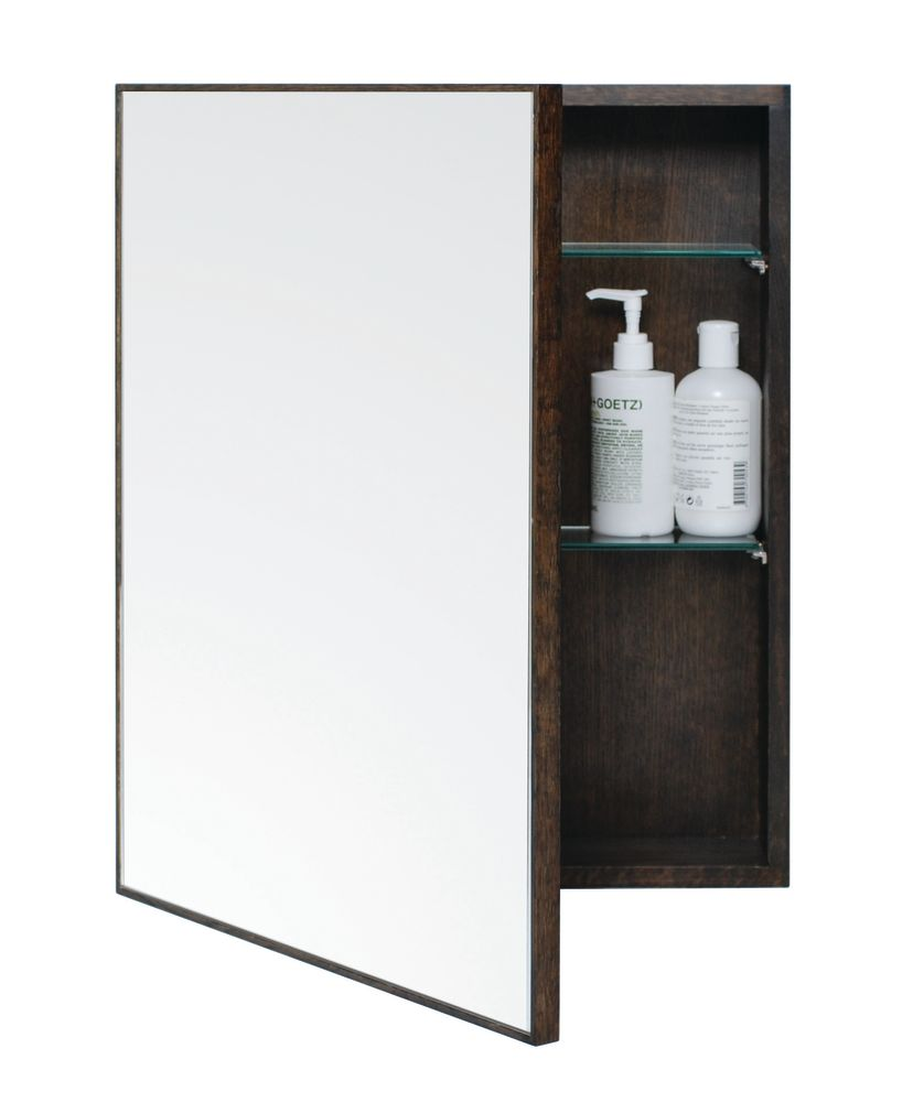 Slimline Cabinet Dark Oak by Lincoln Rivers for Wireworks