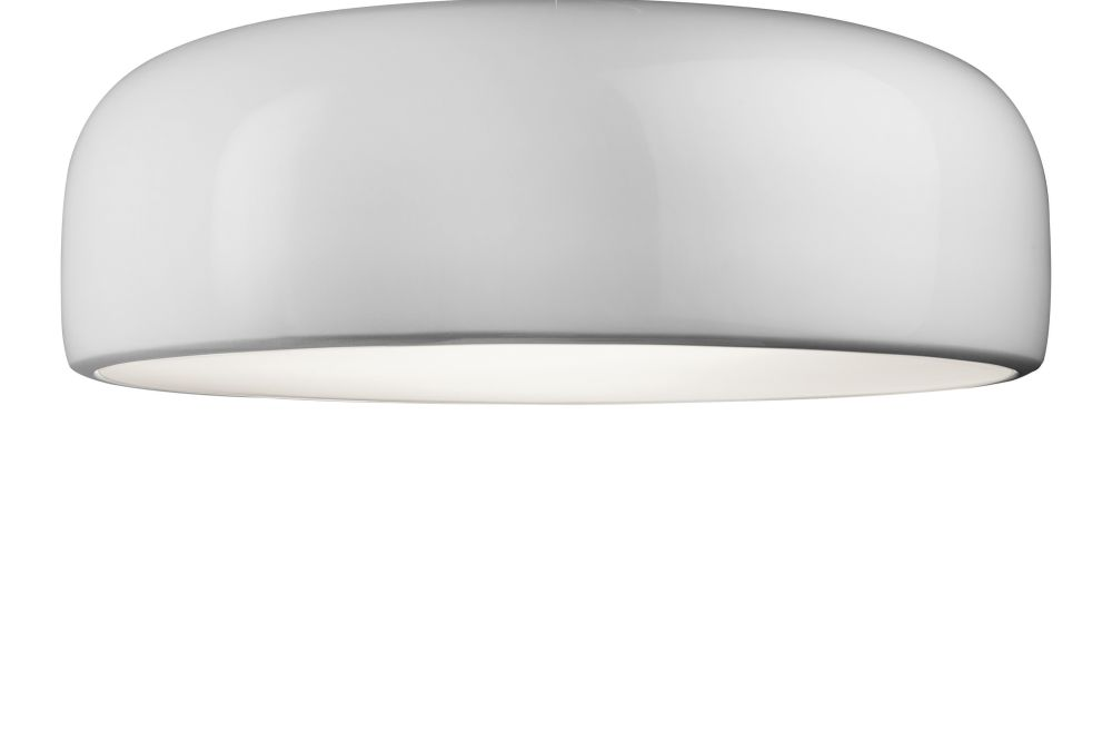 Smithfield eco ceiling light no white by jasper morrison for flos mozeypictures Images