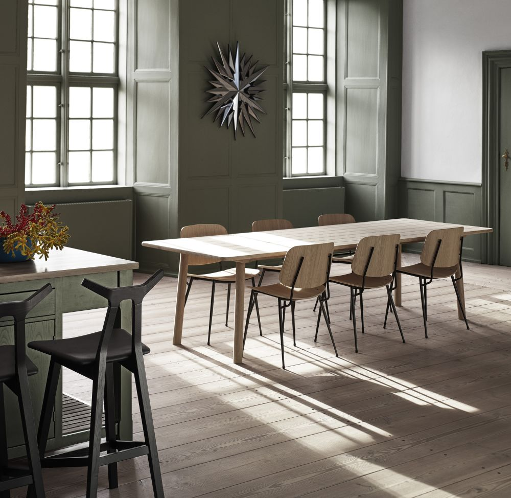 Soborg Chair Steel Frame From Fredericia