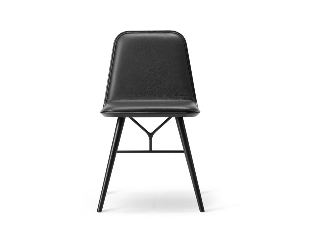 Spine Wood Base Chair by Fredericia