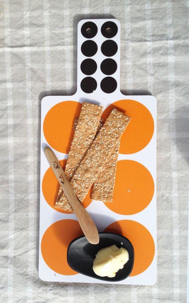 Spots Cutting Board  by Camilla Engdahl