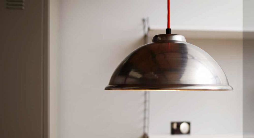 St005 industrial pendant light black cable by deparso the st 005 industrial pendant light is inspired by factory lighting it has a simple rounded shape and is made from uncoated raw steel so the surface will mozeypictures Choice Image