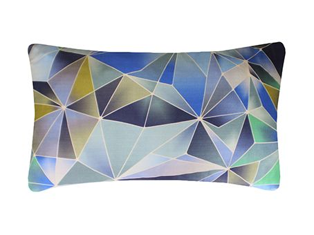 Stained Glass Printed Cushion by Nitin Goyal London