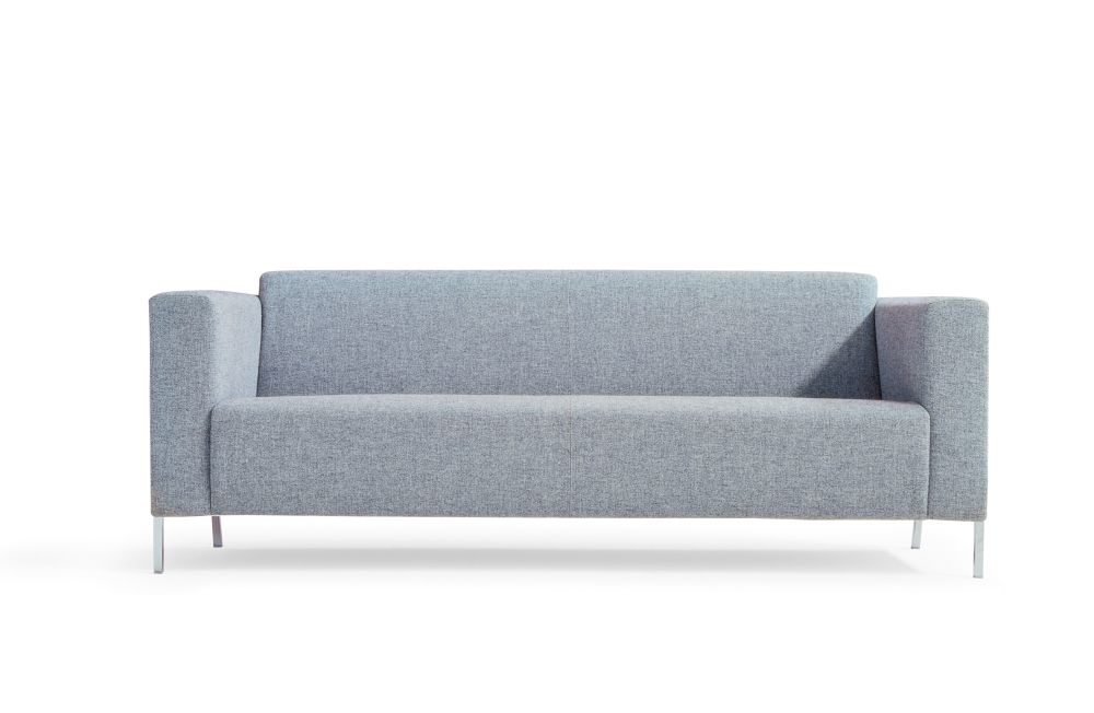 Steel 3 Seater Sofa by Moroso