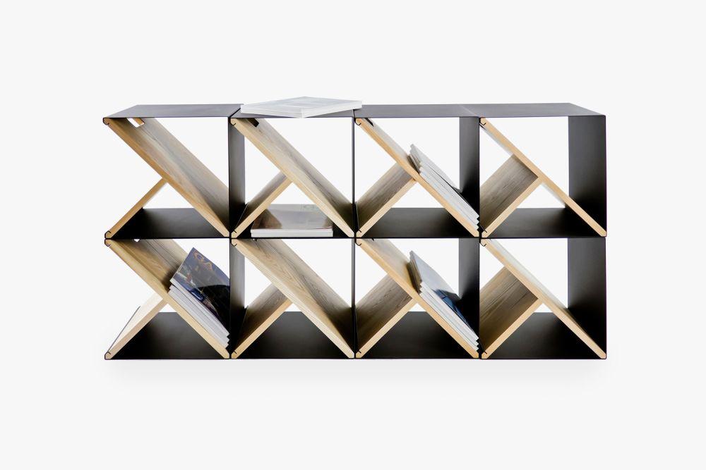 Steel Modular Stool by Noon Studio