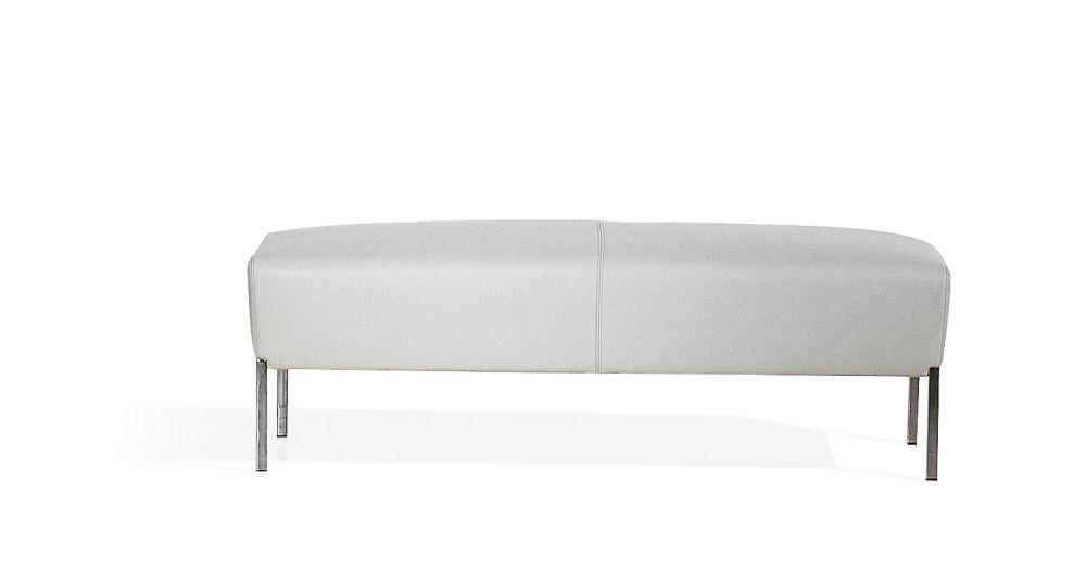 Steel Rectangular Footstool by Moroso
