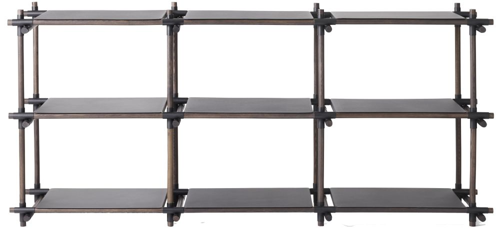 Stick System Shelving, 3x3 by Menu