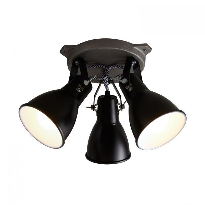 Stirrup Triple Ceiling Light by Original BTC