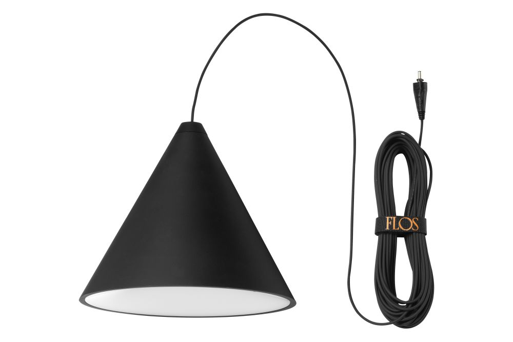 String Light Cone Pendant by Flos