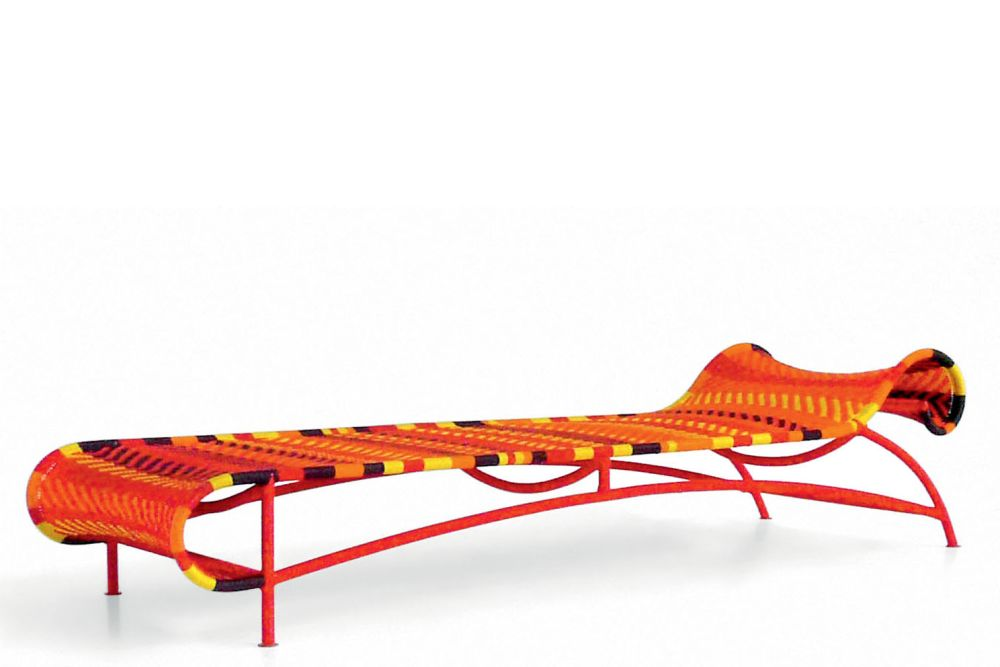 Sunny Lounger by Moroso