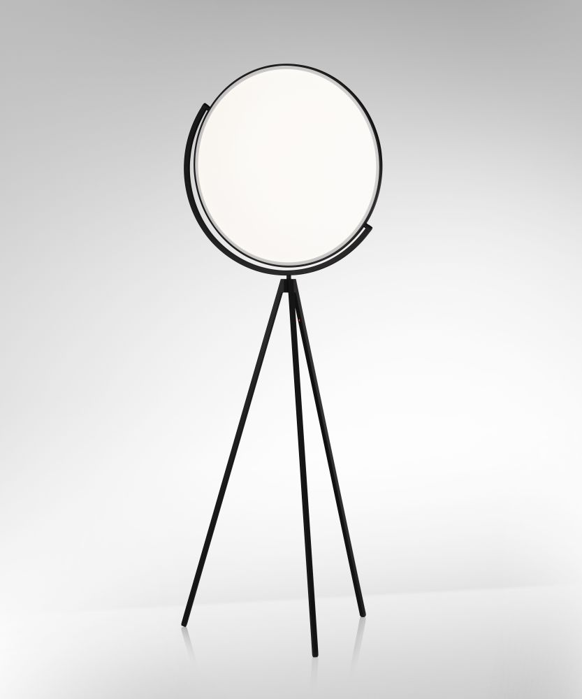 Superloon floor lamp black by jasper morrison for flos aloadofball Images