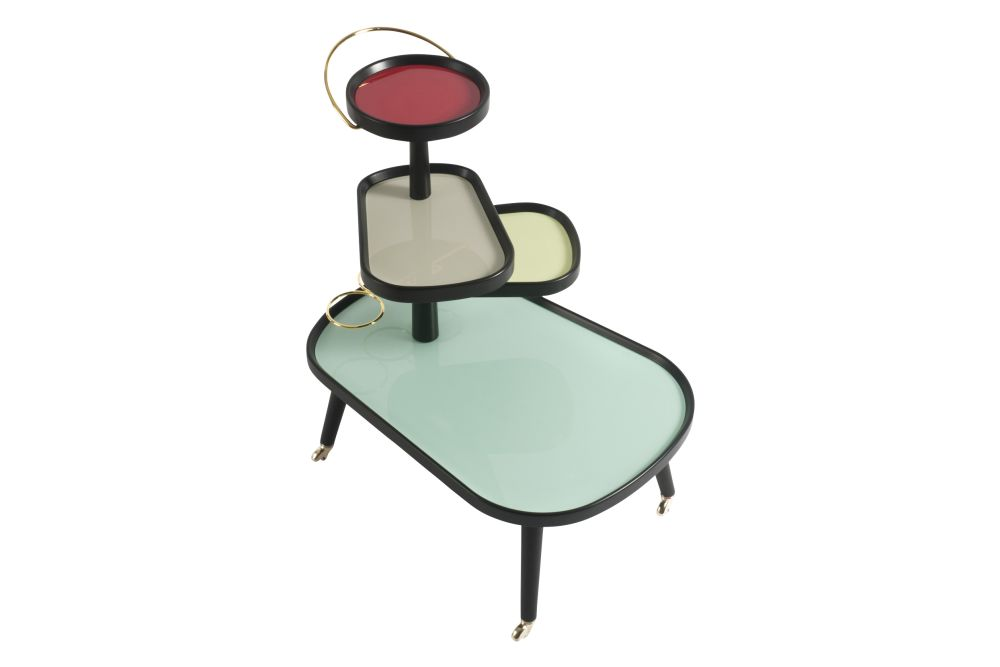 Sushi Kart Side Table by Colé Italian Design Label
