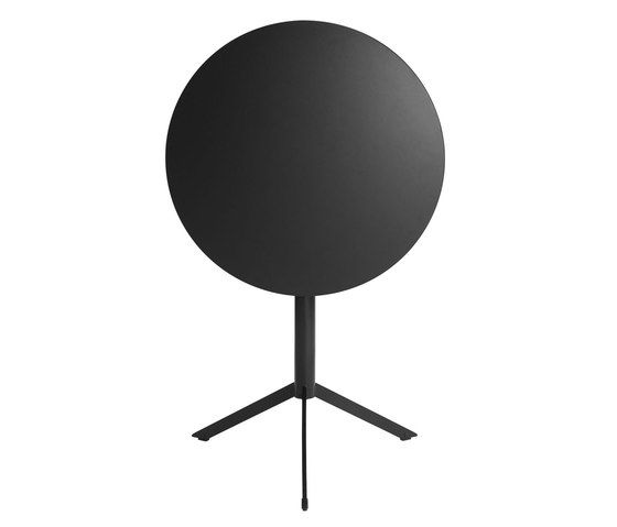 T4 Folding and Stackable Cafe  Table with Round Top by Casamania