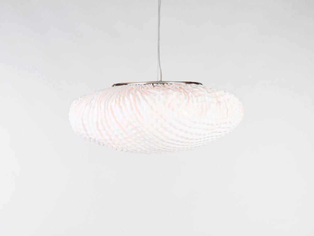 tati large pendant lamp black cable white 55 by arturo alvarez