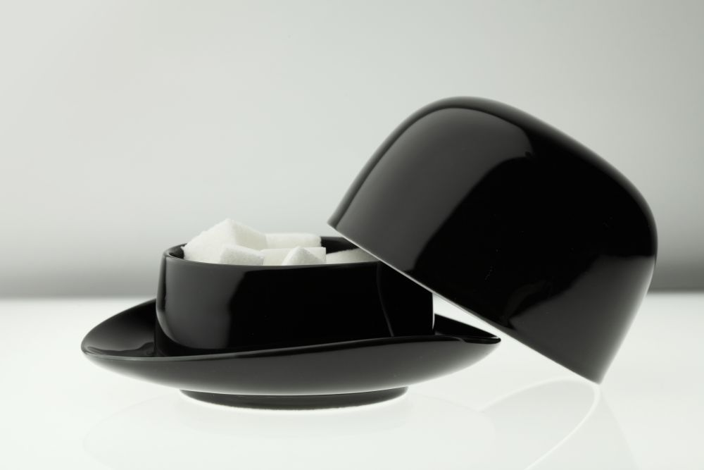 Thompson Top Hat Sugar Bowl by Peter Ibruegger Studio