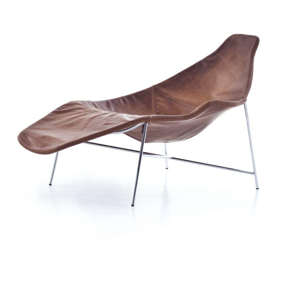 Tia Maria Asymmetric Chaise Lounge Armchair By Moroso