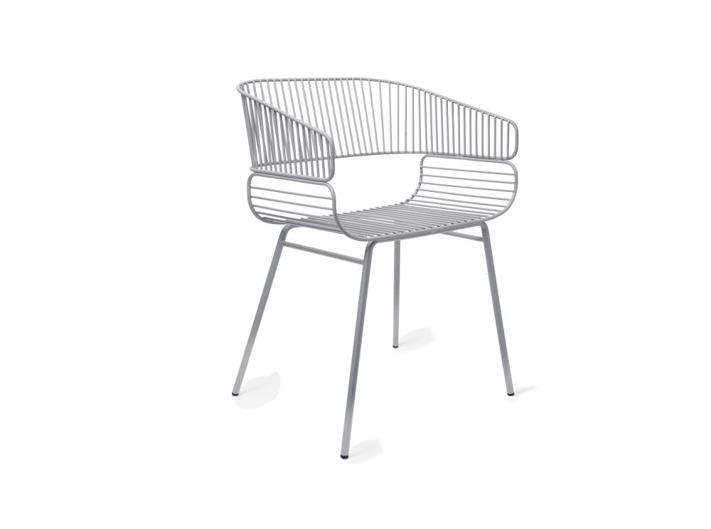 Trame Outdoor Dining Chair by Petite Friture