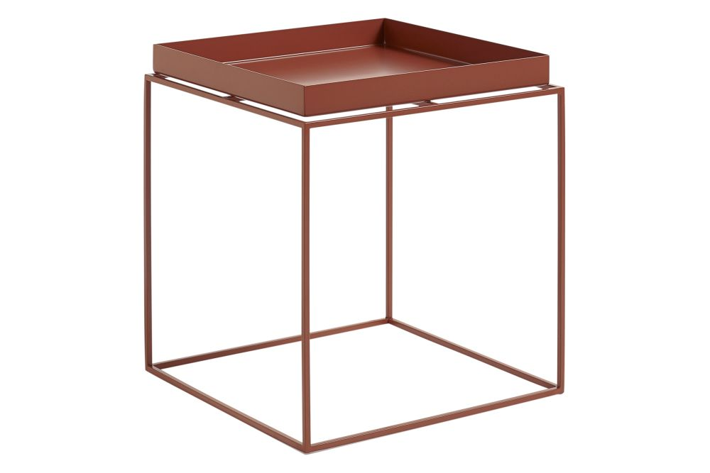 Tray Square Side Table White, Small By HAY For Hay