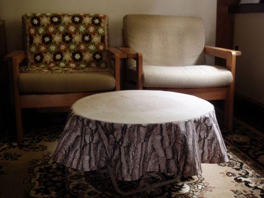 Treestamp Tablecloth by Masako Sato