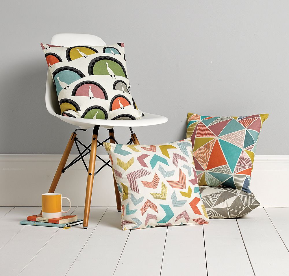 Tress Cushion by Sian Elin