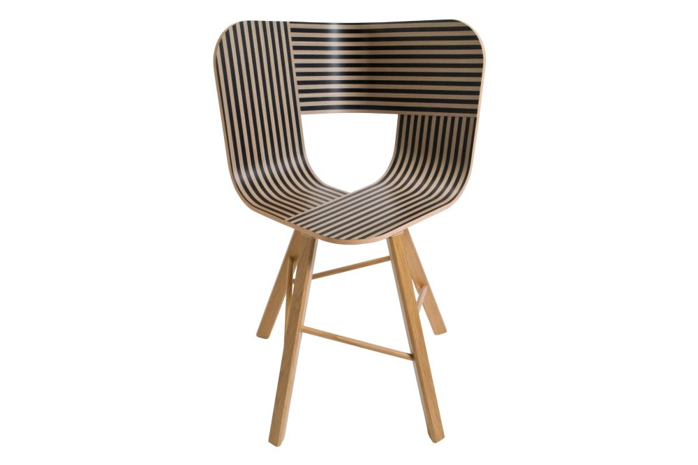Tria Four Legged Dining Chair by Colé Italian Design Label